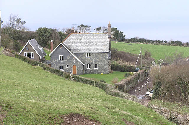 Yarner Farm above Porlock Weir