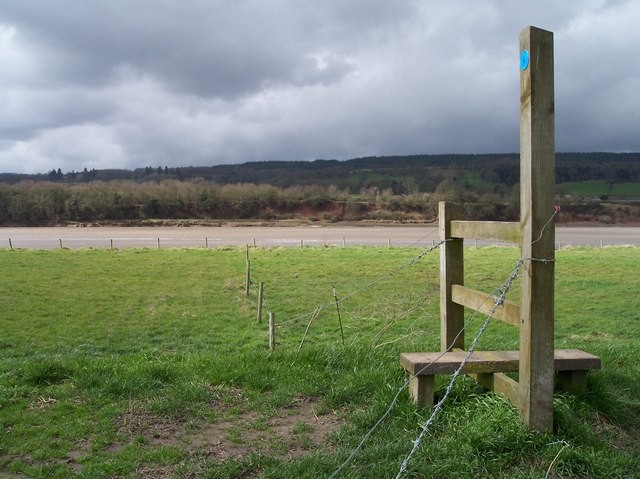 Stile on the Severn Way