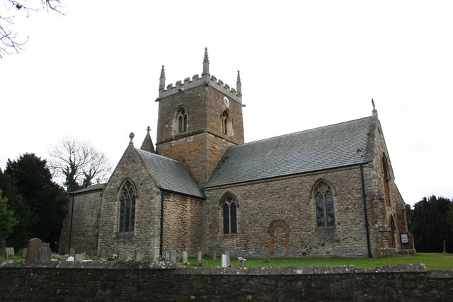 St.Edmund's church, Riby, Lincs.