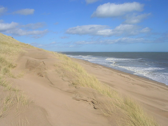 Beach at Millden Links