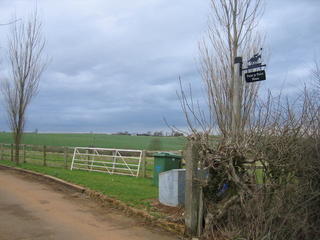 Driveway to Point to Point Farm