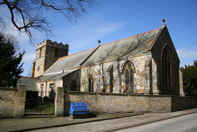 All Saints' church, Bigby, Lincs.