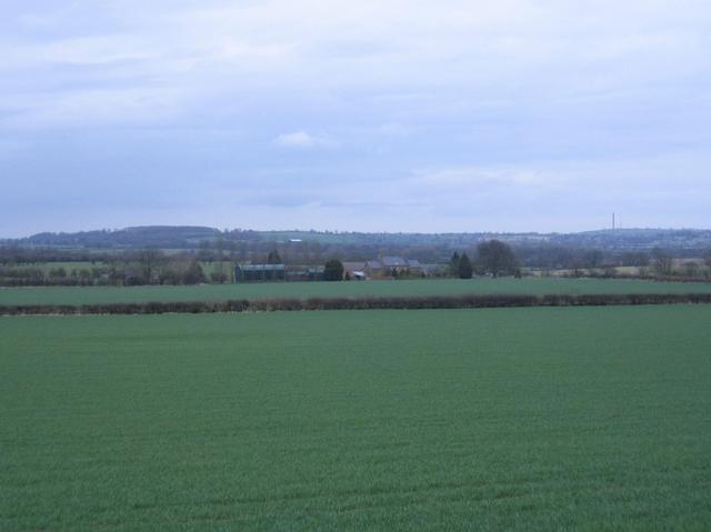 View towards Farnborough Fields Farm