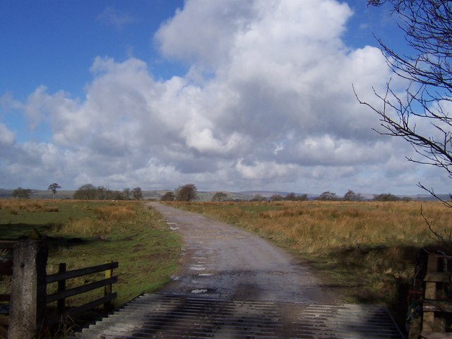 Access Track to Lords Farm