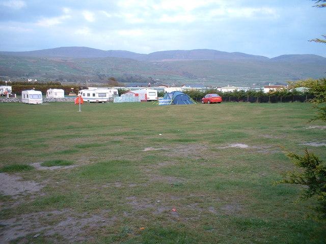 Campsite near Tal-y-bont