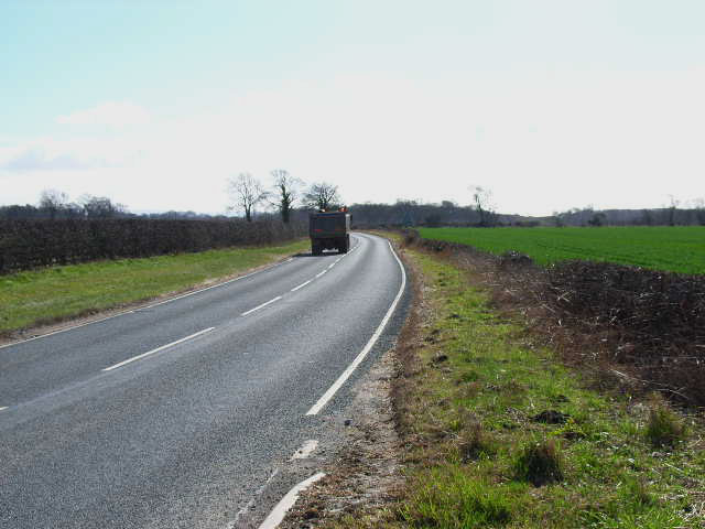B6271 Catterick to Northallerton road