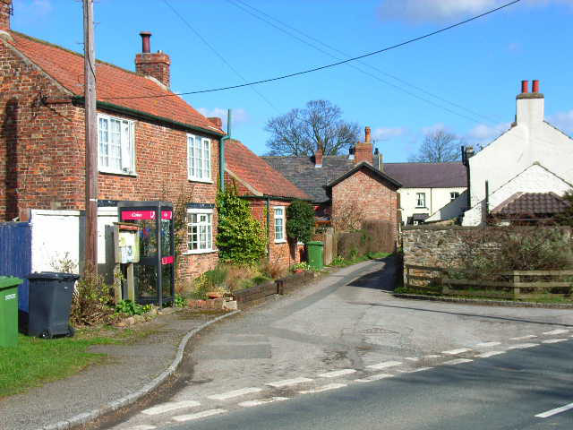 A corner of Great  Langton