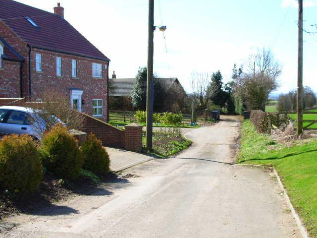 Thrintoft village