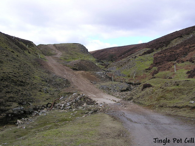 Jingle Pot Gill : Apedale