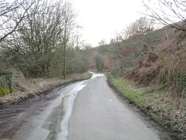 Near Holymoorside.
