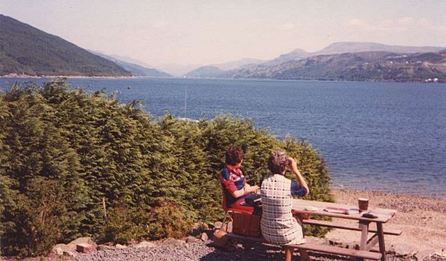 Loch Long from the Ardentinny Hotel