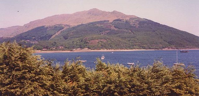 Loch Long  looking towards Coulport