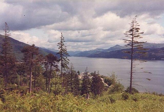 Ardentinny Village and Loch Long