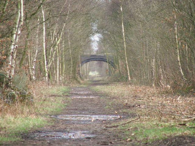 Dismantled railway near Notton.