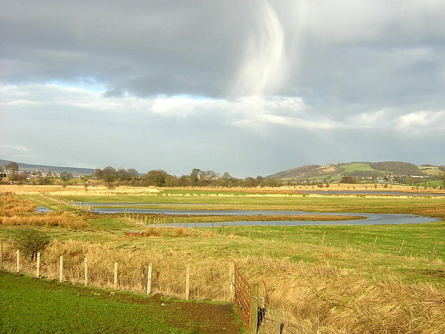 Flooded Field Near Kirkintilloch