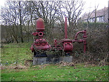 NS6476 : Industrial Relic in Milton of Campsie by Iain Thompson