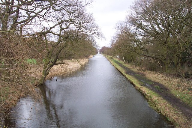 Cannock Extension Canal from the Bridge