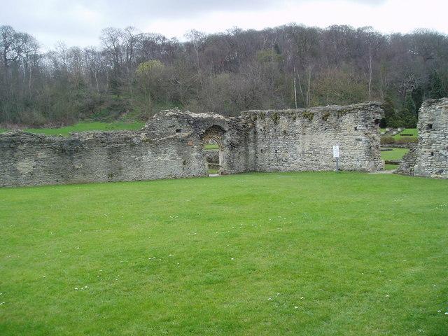 Lesnes Abbey ruins, Belvedere, Kent