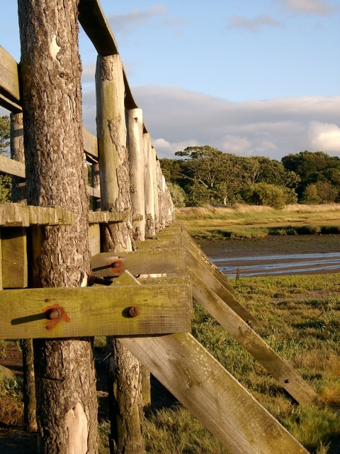 Aberlady footbridge