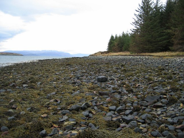 Beach on Broadford Bay