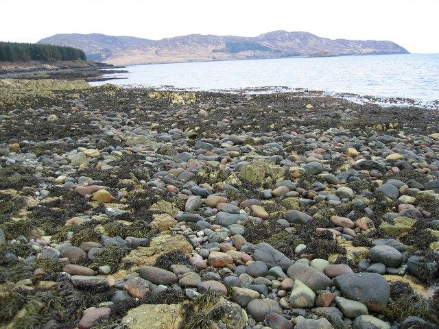 Beach near Corry