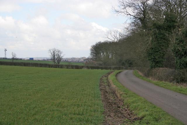 Watergate Lane, Lubbesthorpe near Leicester