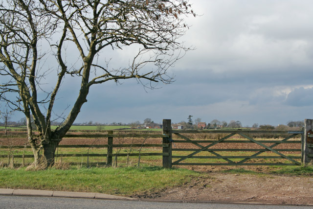 Farmland near Enderby