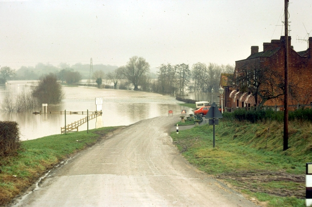 Floods at Wainlode Hill