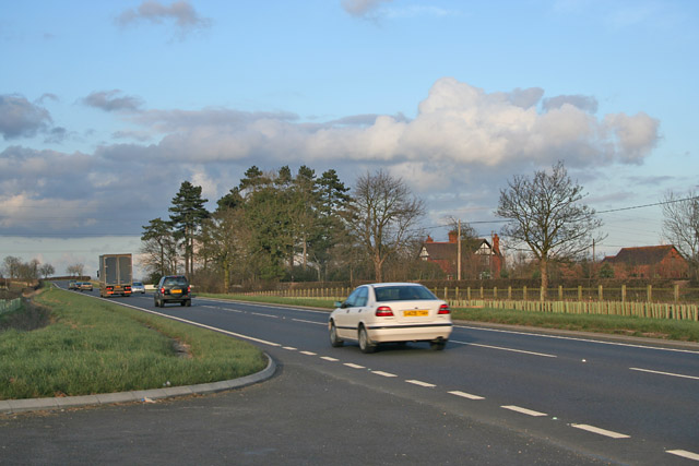 A607, Melton Road near Rearsby