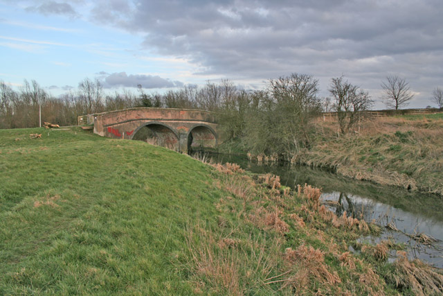 Bridge over the River Wreake near Frisby-on-the-Wreake