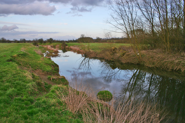 The River Wreake near Frisby-on-the-Wreake