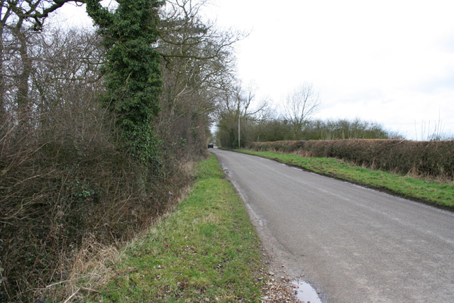 Pasture Lane near Gaddesby