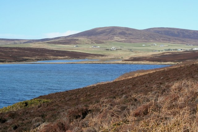 View of Waulkmill Bay, Orphir, Orkney