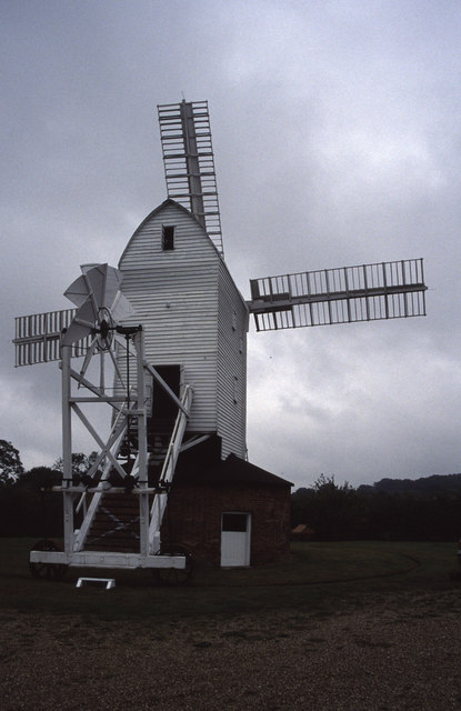 Stanton post mill