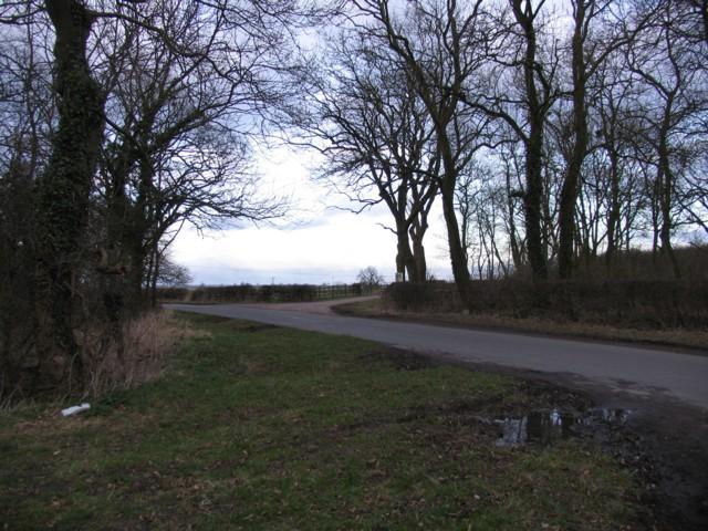 Entrance to Cream Gorse Farm