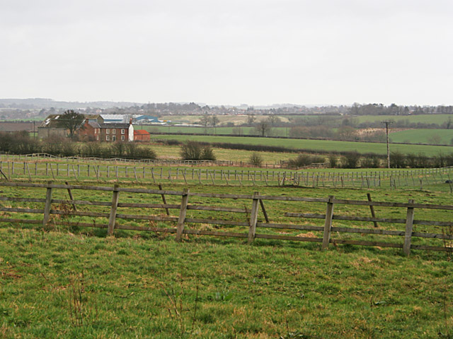 Farmland on Thorpe Satchville Lane