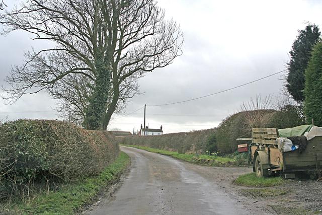 Klondyke Lane near Thorpe Satchville