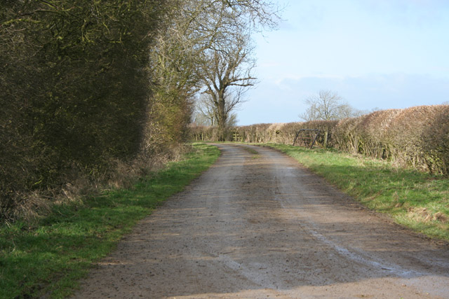 Baker's Lane at the top of Salter's Hill