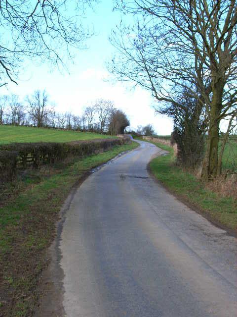 Lane between Yafforth and Danby Wiske