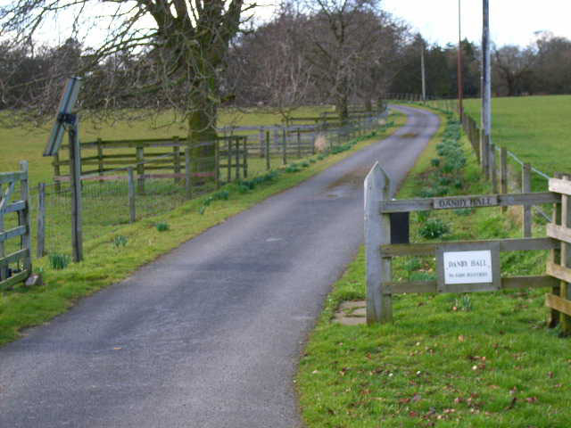 Driveway to Danby Hill