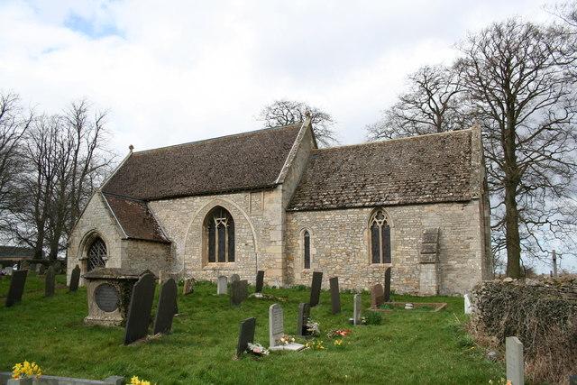 St.Guthlac's church, Little Ponton, Lincs.