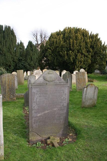 Daniel Lambert's grave