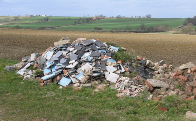 Pile of Building Waste