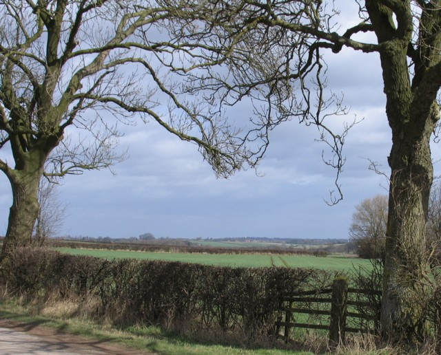 Countryside north of Whissendine