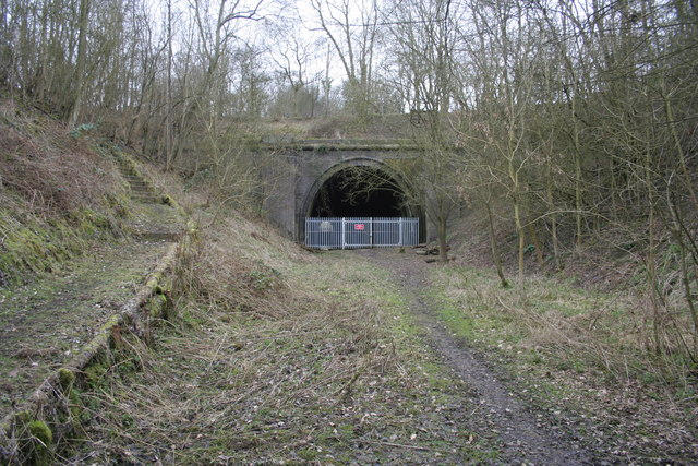 Bourne to Little Bytham Railway Tunnel Entrance
