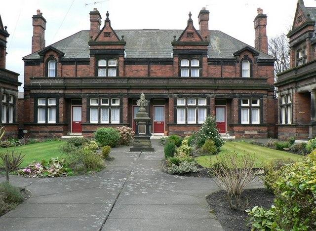 John Scott's Almshouses by Middleton Road