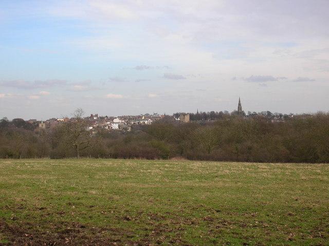 View towards Knaresborough