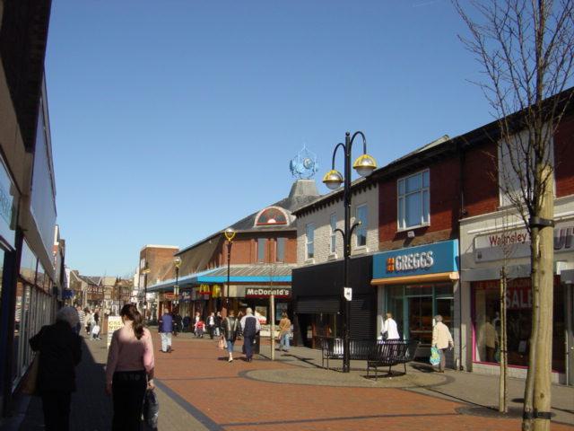 Shopping Centre,  Liscard
