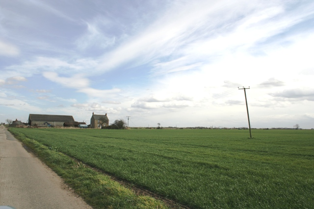 Farm on Morton Drove, Morton Fen