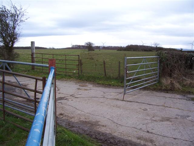 Old Airfield access.